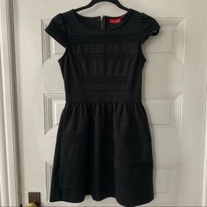 Elle capped sleeve Little Black Dress